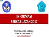 Informasi Pengambilan Ijazah SMK Wongsorejo Gombong Tahun Pelajaran 2016/2017