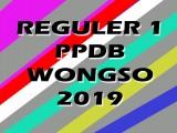 Pengumuman Hasil PPDB REGULER 1 2019/2020